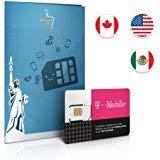 T-Mobile Prepaid SIM-Karte – Tethering (nur in den USA)! Roaming Retter! 50GB in den USA, 5GB in Kanada/Mexiko, ⚡UNBEGRENZE⚡ Anrufe & Texte gültig für 7 Tage