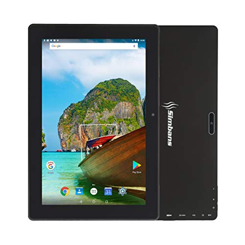 [3 Bonusgegenstand] Simbans TangoTab 10-Zoll-Tablet, 2 GB RAM, 32 GB Festplatte, Android 8.1 Oreo, Mini-HDMI, Micro-USB, USB-A, GPS, Dual WiFi, Bluetooth, IPS Screen, Dual Camera Computer-PC - T92C