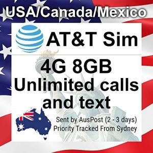 4GB SIM Karte AT&T