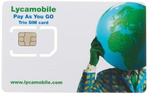 SIM-Karte für USA 1GB
