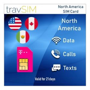 SIM Karte für USA von travSIM